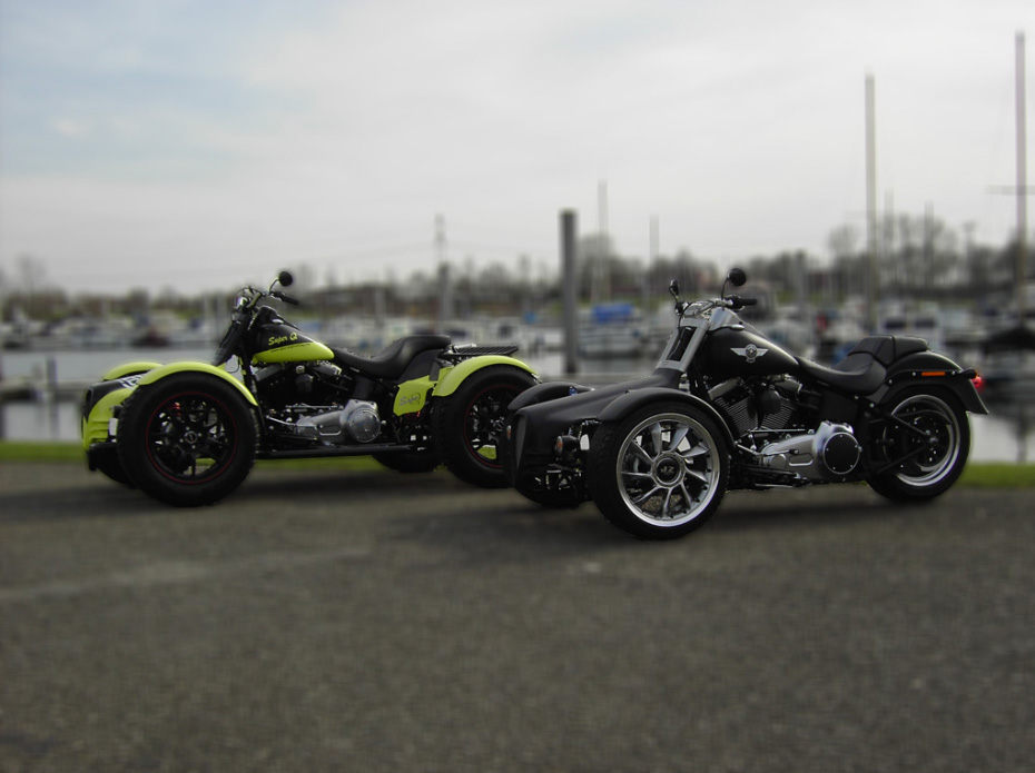 Bikes Trikes And Quads QTEC Reverse Trike amp Quad kits