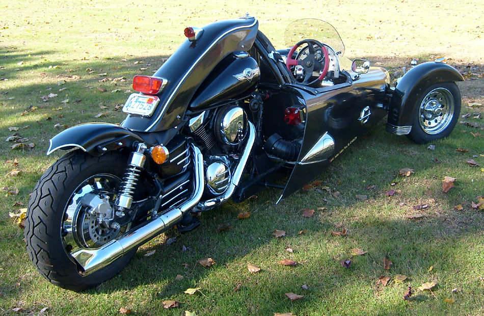 Homemade Motorcycle Reverse Trikes   Car Interior Design