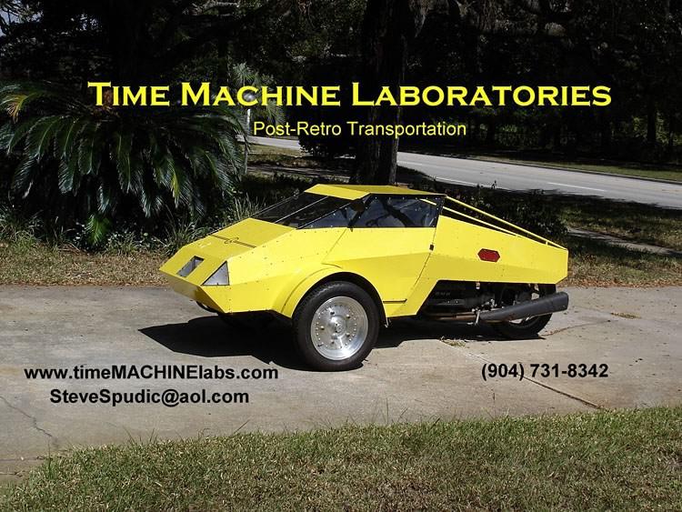 time machine plans